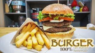 Burger Double Steak 100% fait maison
