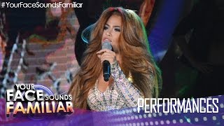 "Your Face Sounds Familiar: Denise Laurel as Jennifer Lopez - ""On The Floor"""