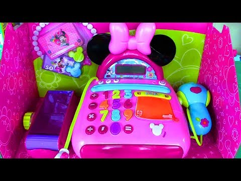 Disney Junior Mickey Mouse Clubhouse Minnie Mouse Bow tique Electronic Cash Register