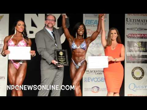 2016 IFBB NY Pro Figure Awards Presentation