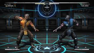 Mortal Kombat X - Landing F4 fbrc 10/10 Times (4 Frame Link)