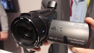 Sony AX53 Handycam 4K Camcorder