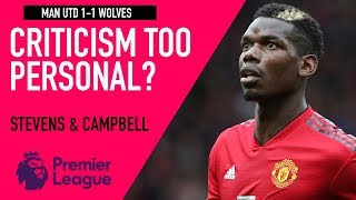 Is Souness' criticism on Pogba becoming personal? | Man Utd 1-1 Wolves | Astro SuperSport