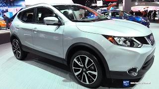 2018 Nissan Rogue Sport SL AWD - Exterior and Interior Walkaround - 2017 Detroit Auto Show