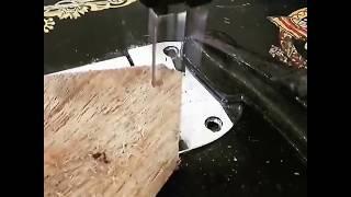 Scrollsaw sewing machine