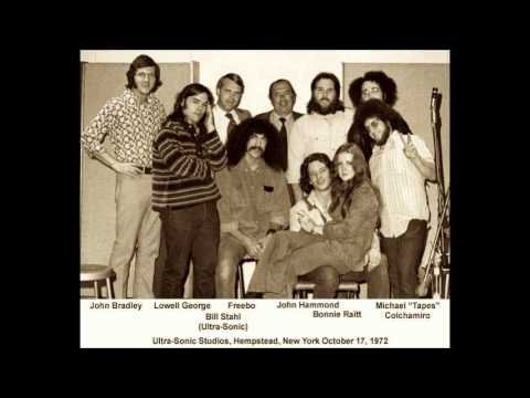 Bonnie Raitt Lowell George John Hammond and Freebo 10 17 72 Ultrasonic Studios audio only