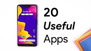 Top 20 Best Android Apps 2019