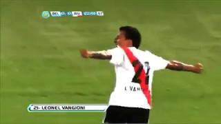 2 goles de vangioni/river plate vs lanus