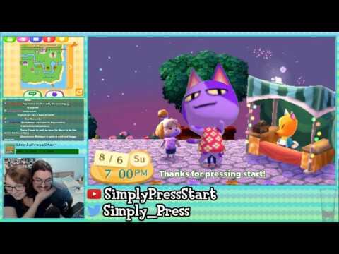Animal Crossing New Leaf Welcome Amiibo - Fireworks Show Stream!