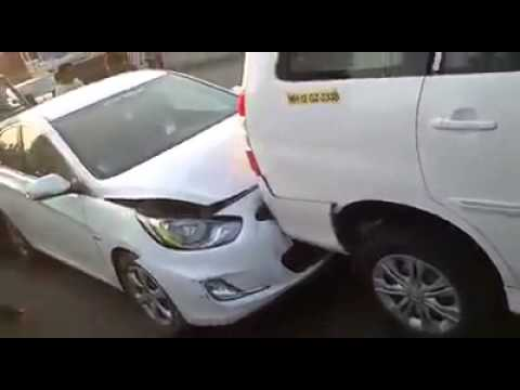 Kharghar Toll Naka Accident