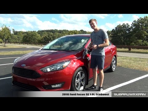 Review: 2016 Ford Focus SE 1.0L EcoBoost