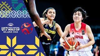 LIVE 🔴- Japan v Colombia - FIBA U17 Women's Basketball World Cup 2018