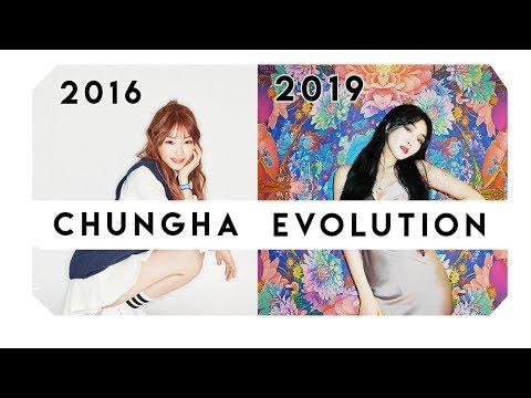 KIM CHUNGHA EVOLUTION 2016 2019 GOTTA GO