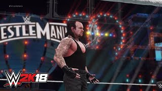 WWE 2K18 reimagines Undertaker vs. Shane McMahon in the Hell in a Cell Match