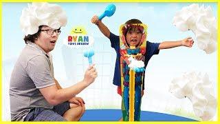 PIE FACE SKY HIGH CHALLENGE Parent vs Kid!