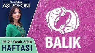 Balık Burcu, haftalık burç ve astroloji yorumu, 15-21 Ocak 2018. Astrolog Demet Baltacı