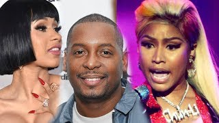 Nicki Minaj goes off on DJ self after saying Cardi B album is better than Nicki Minaj album