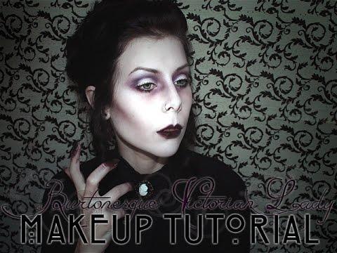 BURTONESQUE VICTORIAN LADY - Makeup Tutorial | BLACKATCVLT