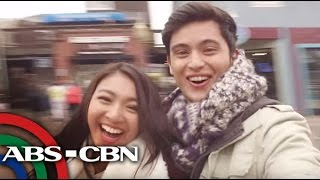 TV Patrol: Travel video ng JaDine