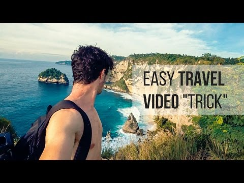 Easy Trick To INSTANTLY Make Better Travel Videos