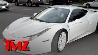 Justin Bieber's Ferrari is CURSED! | TMZ