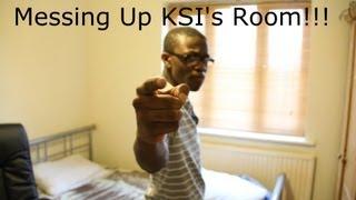 Messing Up KSI's Room!!!!