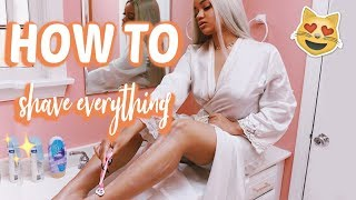 The Best Tips For Shaving Your Legs, Lady Parts, & Body!! NO MORE INGROWN HAIRS