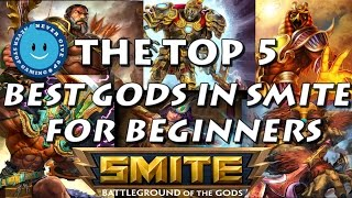The Top 5 Best Gods In SMITE For Beginners (1080p HD)