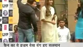 dance troupe dare dazzle news NDTV with salman khan and soonam kapoor prem ratan dhan payo