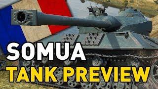 World of Tanks || Somua SM - Tank Preview
