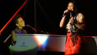 If I Ain't Got You - Alicia Keys feat. Regine Velasquez ( Set The World On Fire Tour )