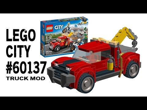 Building 2017 Lego City 60137 Tow Truck Mod Instructions Daikhlo