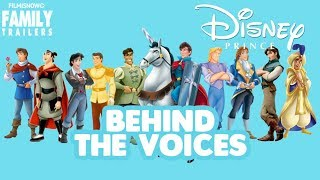 DISNEY PRINCES   Find out who are behind the voices of the male protagonists