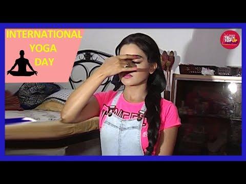 Shubhangi Atre AKA Angoori Bhabi's Reveals Her Fitness Mantra | International Yoga Day
