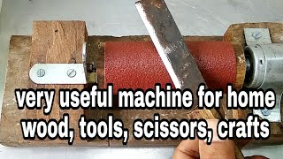 How to make drum sander very easy