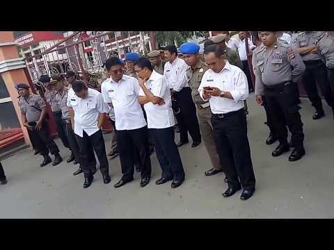 Aksi di gubernur sulawesi tengah persoalan listrik di kab.morowali
