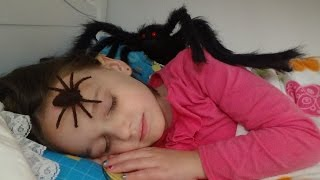 Spiders Attack Girl In Her Bed
