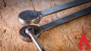 Blacksmithing - Forging a ball swage