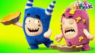 Pie Day | NEW Oddbods Episodes | Funny Cartoons For Children