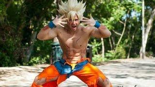Goku Lanza un Ataque  en La Vida Real - 2016