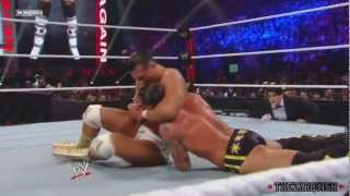 """TZ"" CM Punk Vs Alberto Del Rio - Survivor Series 2011 - HD Highlights"