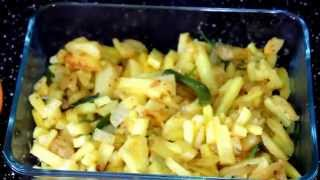 How to Make Aloo Bhaji/আলু ভাজি -Bangladeshi breakfast recipe