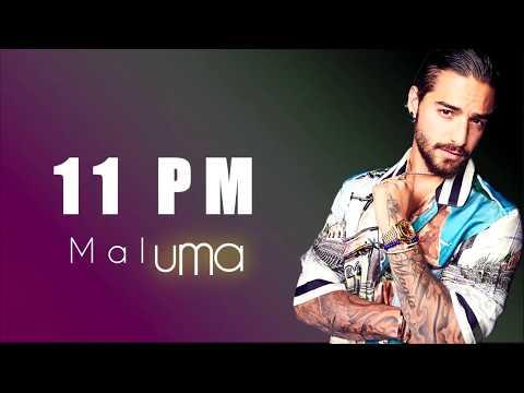 Maluma 11 PM Letra Lyrics