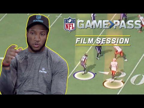 Marlon Humphrey Breaks Down Man to Man Coverage Interceptions & More NFL Film Session