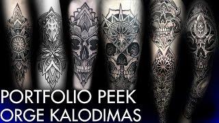 Tattoo Portfolio Peek -  Orge Kalodimas