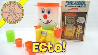 Mr Kool Beverage Dispenser With Hi-C Ecto Coolers - Ectoplasm Party!