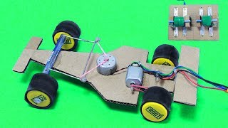 How to make Amazing F1 Racing Car - Out of Cardboard DIY
