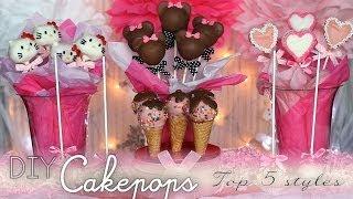 DIY Cakepops: Top 5 Styles