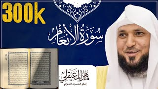 Koran karim surat al-anaam Al Mueaqlyسورة الأنعام