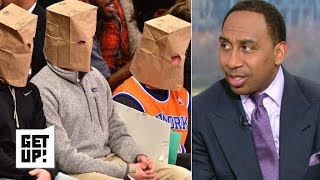 Knicks fans' Christmas wish is for James Dolan to sell team – Stephen A.   Get Up!